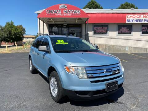 2008 Ford Edge for sale at Choice Motors of Salt Lake City in West Valley  City UT