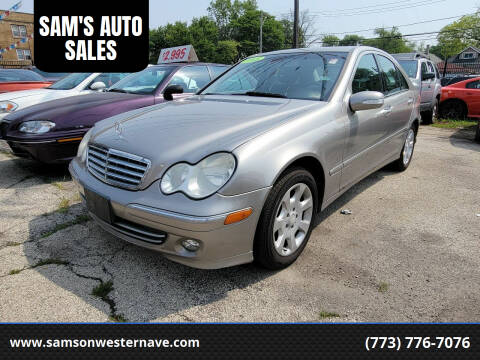 2005 Mercedes-Benz C-Class for sale at SAM'S AUTO SALES in Chicago IL
