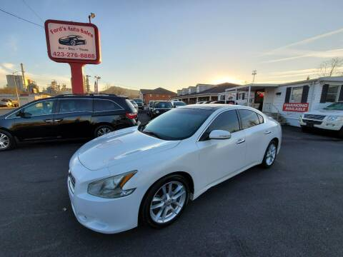 2009 Nissan Maxima for sale at Ford's Auto Sales in Kingsport TN