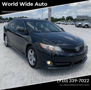2012 Toyota Camry for sale at World Wide Auto in Fayetteville NC
