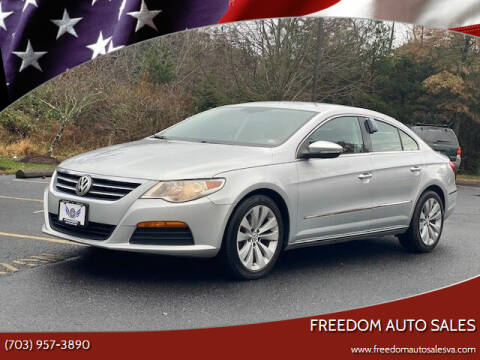 2012 Volkswagen CC for sale at Freedom Auto Sales in Chantilly VA