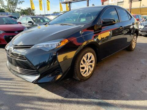 2019 Toyota Corolla for sale at AUTO ALLIANCE LLC in Miami FL