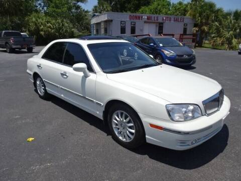 2005 Hyundai XG350 for sale at DONNY MILLS AUTO SALES in Largo FL