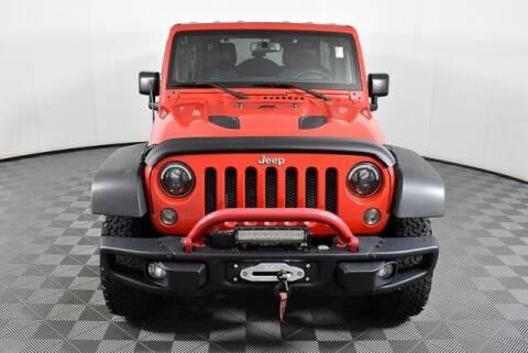 2015 Jeep Wrangler Unlimited for sale at Southern Auto Solutions-Jim Ellis Hyundai in Marietta GA