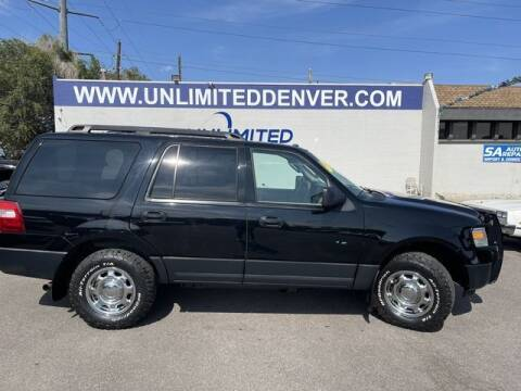 2012 Ford Expedition for sale at Unlimited Auto Sales in Denver CO