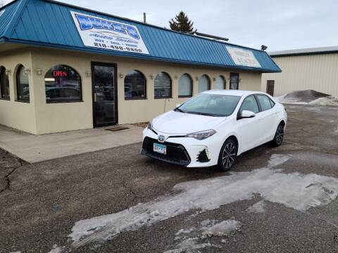 2017 Toyota Corolla for sale at Dukes Auto Sales in Glyndon MN