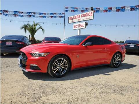 2015 Ford Mustang for sale at Dealers Choice Inc in Farmersville CA