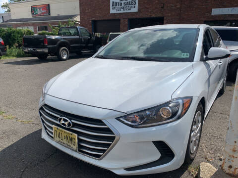 2018 Hyundai Elantra for sale at M & C AUTO SALES in Roselle NJ