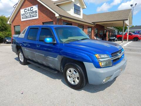 2003 Chevrolet Avalanche for sale at C & C MOTORS in Chattanooga TN