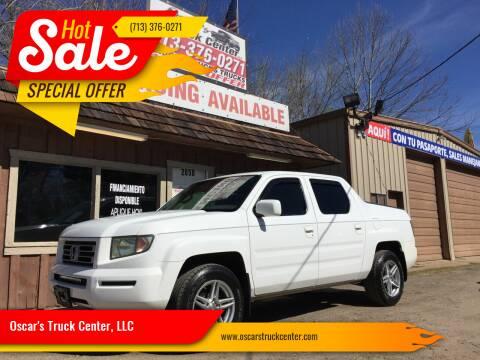 2007 Honda Ridgeline for sale at Oscar's Truck Center, LLC in Houston TX
