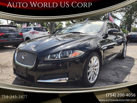 2015 Jaguar XF for sale at Auto World US Corp in Plantation FL