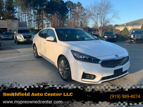 2017 Kia Cadenza for sale at Smithfield Auto Center LLC in Smithfield NC