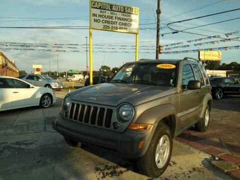 2006 Jeep Liberty for sale at CAPITOL AUTO SALES LLC in Baton Rouge LA