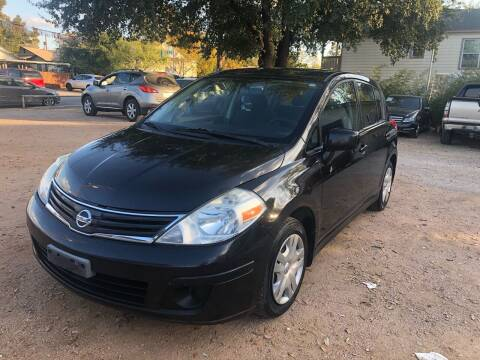 2010 Nissan Versa for sale at S & J Auto Group in San Antonio TX