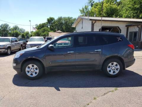 2009 Chevrolet Traverse for sale at RIVERSIDE AUTO SALES in Sioux City IA