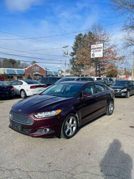 2013 Ford Fusion for sale at NEWFOUND MOTORS INC in Seabrook NH