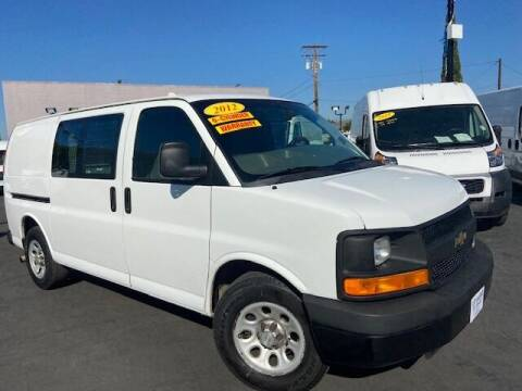 2012 Chevrolet Express Cargo for sale at Auto Wholesale Company in Santa Ana CA
