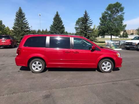 2012 Dodge Grand Caravan for sale at Crown Motor Inc in Grand Forks ND