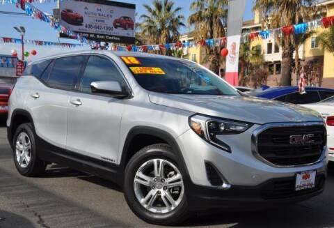 2018 GMC Terrain for sale at AMC Auto Sales, Inc in San Jose CA