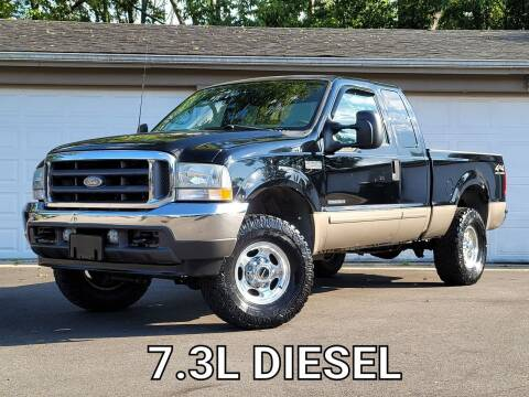 2002 Ford F-250 Super Duty for sale at Riverfront Auto Sales in Middletown OH