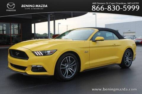 2017 Ford Mustang for sale at Bening Mazda in Cape Girardeau MO