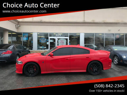 2016 Dodge Charger for sale at Choice Auto Center in Shrewsbury MA