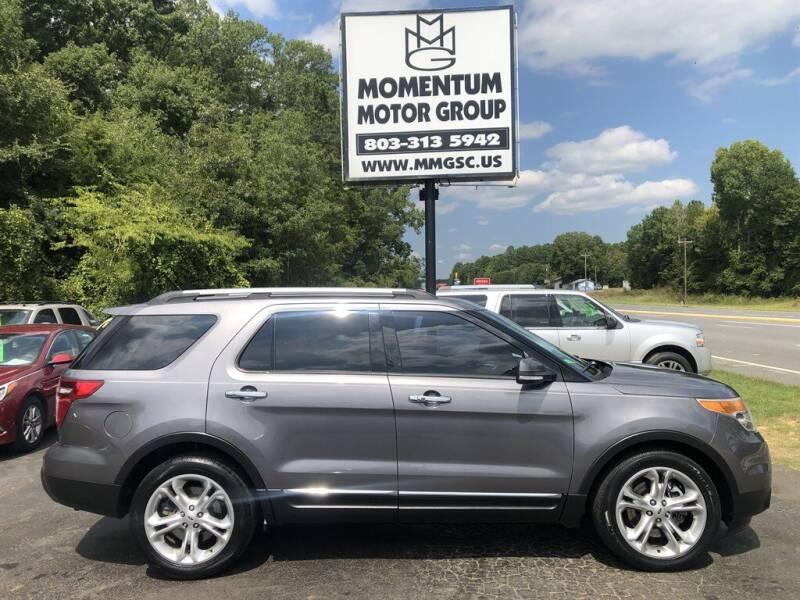 2014 Ford Explorer for sale at Momentum Motor Group in Lancaster SC