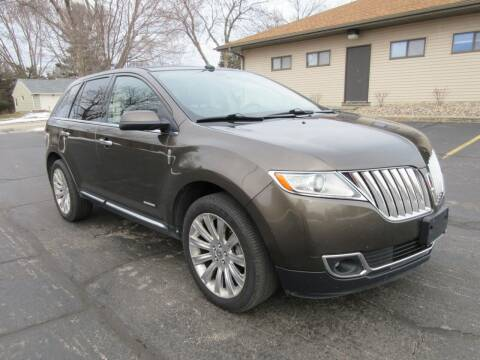 2011 Lincoln MKX for sale at Fox River Motors, Inc in Green Bay WI