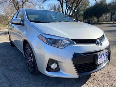 2016 Toyota Corolla for sale at CAR PLUS in Modesto CA
