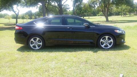 2016 Ford Fusion for sale at H & H AUTO SALES in San Antonio TX