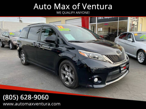 2012 Toyota Sienna for sale at Auto Max of Ventura in Ventura CA