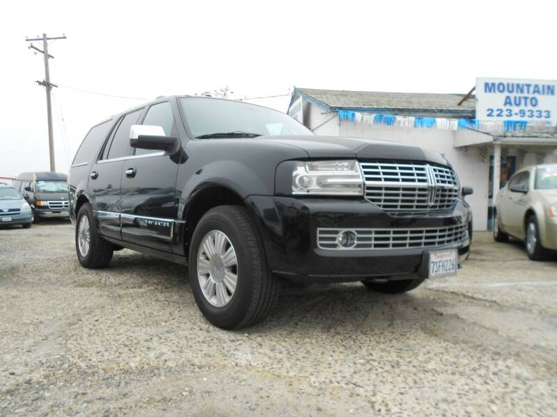 2014 Lincoln Navigator L for sale at Mountain Auto in Jackson CA