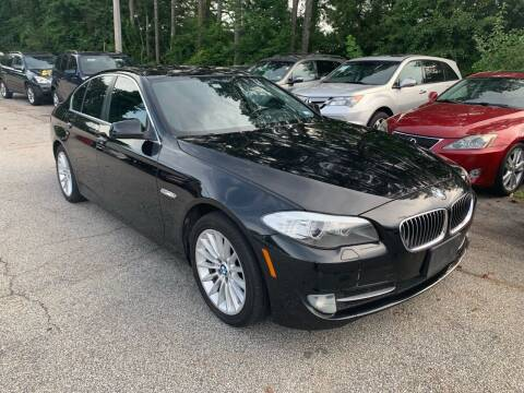 2011 BMW 5 Series for sale at Philip Motors Inc in Snellville GA