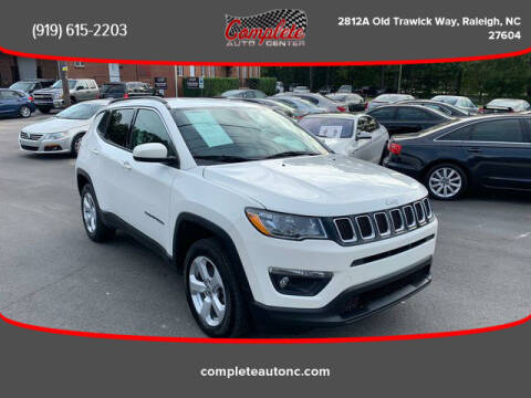 2018 Jeep Compass for sale at Complete Auto Center , Inc in Raleigh NC