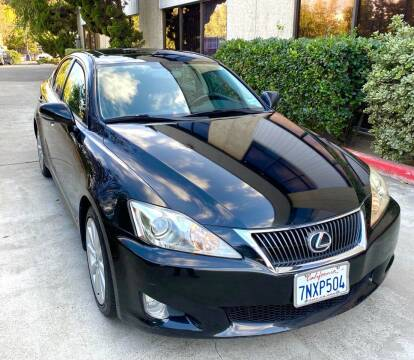 2009 Lexus IS 250 for sale at MotorSport Auto Sales in San Diego CA