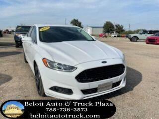 2014 Ford Fusion for sale at BELOIT AUTO & TRUCK PLAZA INC in Beloit KS