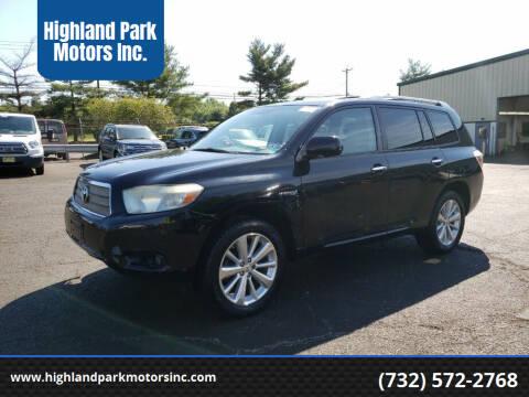 2010 Toyota Highlander Hybrid for sale at Highland Park Motors Inc. in Highland Park NJ