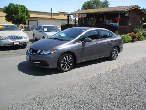 2014 Honda Civic for sale at Manzanita Car Sales in Gridley CA
