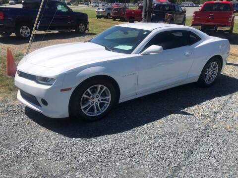 2015 Chevrolet Camaro for sale at Clayton Auto Sales in Winston-Salem NC