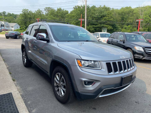 2015 Jeep Grand Cherokee for sale at Top Quality Auto Sales in Westport MA