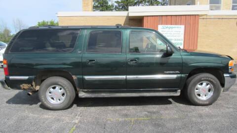 2002 GMC Yukon XL for sale at LENTZ USED VEHICLES INC in Waldo WI