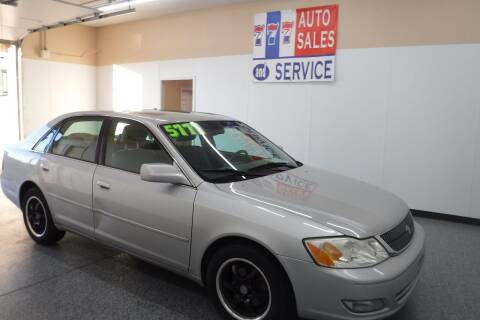 2002 Toyota Avalon for sale at 777 Auto Sales and Service in Tacoma WA