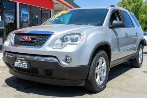 2012 GMC Acadia for sale at Phantom Motors in Livermore CA