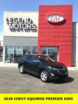 2018 Chevrolet Equinox for sale at Legend Motors of Waterford - Legend Motors of Ferndale in Ferndale MI