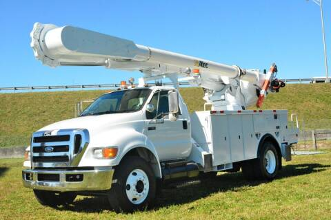 2008 Ford F-750 Super Duty for sale at American Trucks and Equipment in Hollywood FL