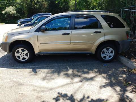 2005 Chevrolet Equinox for sale at CRS 1 LLC in Lakewood NJ