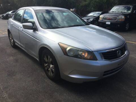 2008 Honda Accord for sale at Central Jersey Auto Trading in Jackson NJ