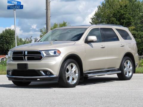 2014 Dodge Durango for sale at Tonys Pre Owned Auto Sales in Kokomo IN