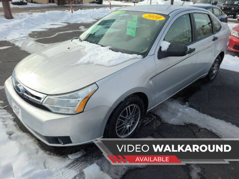 2010 Ford Focus for sale at Stach Auto in Janesville WI