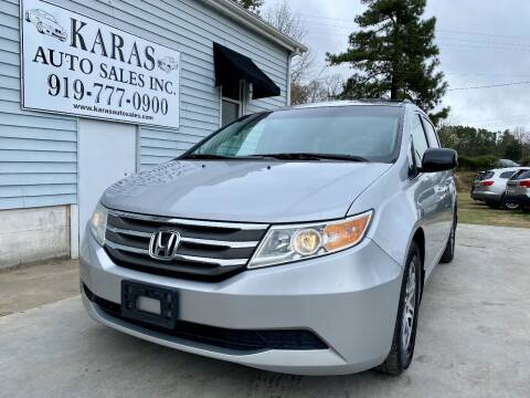 2012 Honda Odyssey for sale at Karas Auto Sales Inc. in Sanford NC